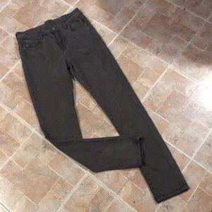 Carmar army green skinny jeans size women's 28
